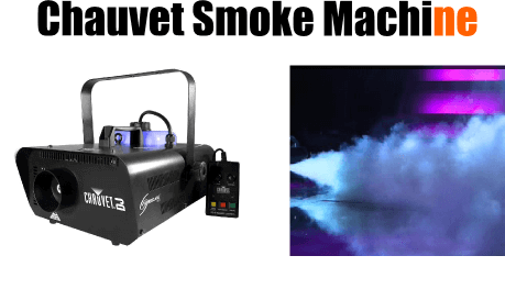 chauvet smoke machine 2