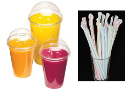 cups & straws